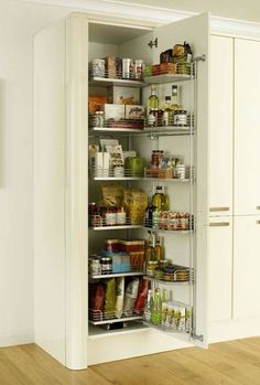 Full-Height Pull & Swing Larder 500mm - Storage Solutions - Accessories - Kitchen Collection - Howdens Joinery
