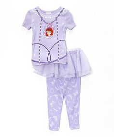 Purple Sofia the First Pajama Set - Toddler by Sofia the First  zulily   zulilyfinds 7fc32de27