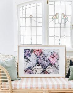 Hydrangea Fine Art Print By Kara Hynes