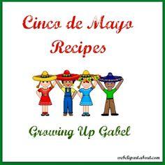 Cinco de Mayo Recipes from growingupgabel.com @thegabels #recipe
