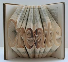 ♥ Books, Crafts & Pretty Things Blog: Crafts Made from Books 2 - other people's projects