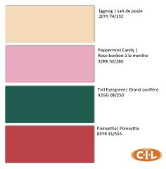 What's your favourite Yuletide inspired CIL Paints colour?