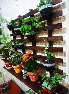 Art & Casa - Mari Rodrigues: Fazendo um Jardim Vertical - PAP em Vídeo