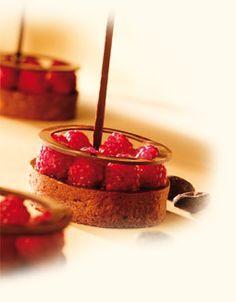 Callebaut - Tartelletta lampone e cioccolato