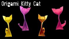 Origami Kitty Cat