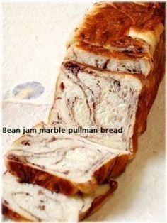 「餡子折込みシート あんマーブルプルマン」いたるんるん | お菓子・パンのレシピや作り方【corecle*コレクル】