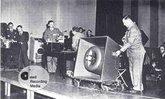 Historical Review of the History of Technoolgies for Recording Music - Tape Recording and Studios