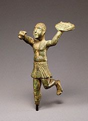 Statuette of a Running Servant, Italic, 300-200 B.C. Bruce White Photography. Gift of Barbara and Lawrence Fleischman