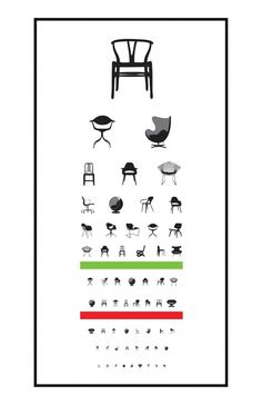 Poster design Ophtalmo...now I can have all the chairs I want!