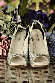 My shoes. Gorgeous but painful..