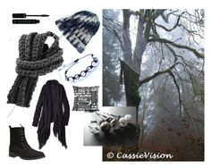 """""""Halloween Black"""" by cassievision on Polyvore featuring Shamballa Jewels, American Eagle Outfitters and Wet Seal"""
