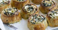 These savoury pastries are simple and delicious – pair with a salad for a light dinner, or serve as a canapé or starter at your next party.