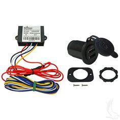 24-48V Electric Golf Cart USB Charging Kit