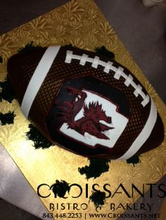 USC Gamecocks Football Cake by Croissants Bistro & Bakery