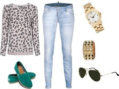 """""""Animal Print ♥"""" by laura-restrepo on Polyvore"""