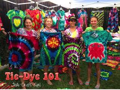 We love tie-dye in our family! Check out Jedi Craft Girl: Tie-Dye 101 for vibrant colors and folding techniques.