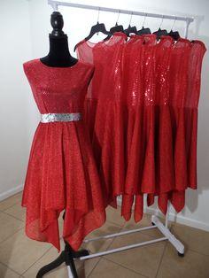 Dance Garments  Redeemed by the blood of  by ShekinahDanceStore