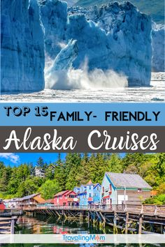 The final frontier and a bucket list family vacation. If you're planning the best Alaska cruise for start with TravelingMom's complete guide. Best Cruise, Cruise Port, Cruise Tips, Alaska Destinations, Family Vacation Destinations, Top Cruise Lines, Viking Ocean Cruise, Silversea Cruises, American Cruises