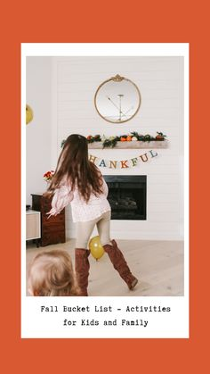 Our Fall Bucket List consists of family fun activities indoor and outdoors. Find creative ways to spend quality time together this Fall. Read more here..#veiledfree #fall #indoor #kids #family #activities #pumpkinpatch