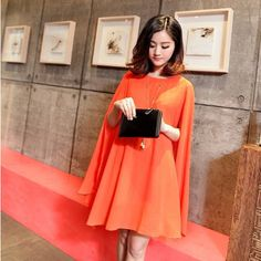 New Arrival Bat Sleeve Chiffon Solid Spring Summer Maternity Dress Clothing For Pregnant Clothes Woman 2015 A567