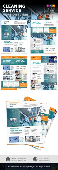 31 amazing cleaning service flyer images advertising page layout rh pinterest com