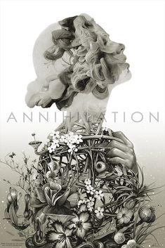 New Poster: ANNIHILATION by Greg Ruth – Mondo