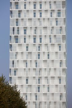 Wohnhochhaus Park Tower in Antwerpen - Brandschutz - Wohnbauten - baunetzwissen.de