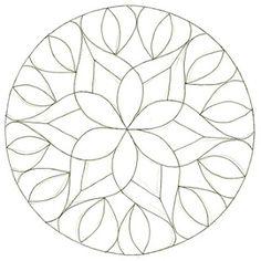 Enthusiastic Artist: Dot stencil zendalas. Mandala para pintar. Mandala for painting. Mandala of coloring