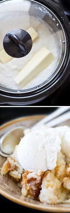 4-Ingredient Slow Cooker Coconut Cake (Video)