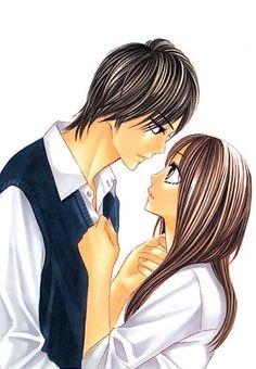 Shuusei x Aoi - L-dk Manga Anime, Anime Art, L Dk, Kimi Ni Todoke, Otaku Mode, Maid Sama, Manga Drawing, Fujoshi, Beautiful Couple