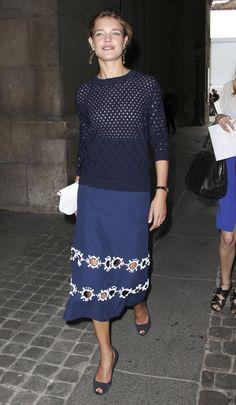 Natalia Vodianova. Louis Vuitton.