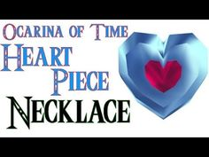Heart Piece Necklace Making- The Lengend of Zelda Ocarina of Time Version