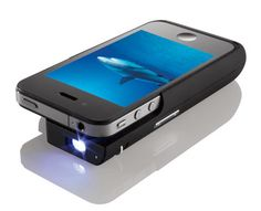 Pocket Projector for iPhone 4...WANT!!!