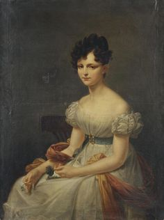 Portrait of a Young Woman | artist unknown | Russia | 1820s | oil on canvas | Hermitage | Inventory #: ЭРЖ-1192