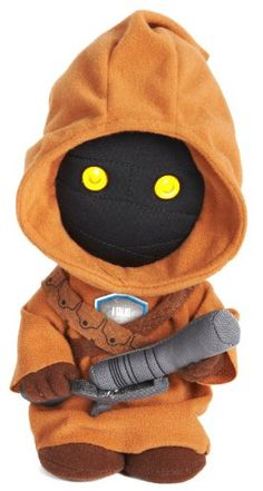 Star Wars 9″ Talking Plush Jawa - http://geekarmory.com/star-wars-9-talking-plush-jawa/