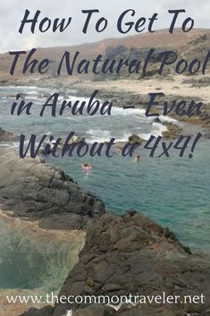 Don't miss out on seeing the Natural Pool in Aruba! #aruba #naturalpool #travel