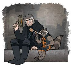 GF: Portal Ford meets Rocket Raccoon by Eregyrn Shows Like Gravity Falls, Gravity Falls Theory, Gravity Falls Crossover, Gravity Falls Comics, Gravity Falls Characters, Rocket Raccoon, Cartoon Crossovers, Autumn Art, Star Vs The Forces Of Evil