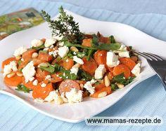 Rezept Karottensalat mit Rucola auf Mamas Rezepte Homepage