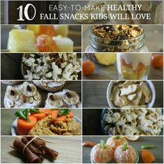 10 Easy-To-Make, Healthy Fall Snacks Kids Will Love | Growing Up Herbal | Here are 10 easy to make, healthy snacks your kids will love this fall!