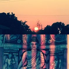 Good Morning September!  #sunrise #buddha #september #denver
