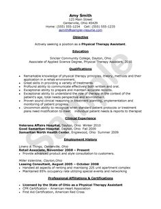 Physical Therapist Assistant Covering Letter  EntrepreneuHer