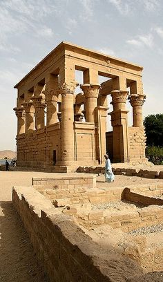 Temple of Isis at Philae, Egypt | Flickr - Photo by bizzo_65
