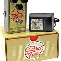 Electro-Harmonix-Soul-Food-Overdrive-Pedal-wEHX-Power-Supply-0