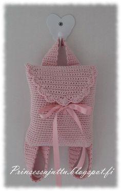 bolsa infantil Crochetsruth Costa e pins