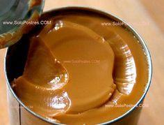 Preparación de dulce de leche casero