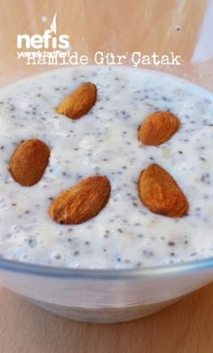 Sugar-free, starch-free, healthy pudding (with chia seeds) admin Vegan Gluten Free Breakfast, Gluten Free Breakfasts, Raw Food Recipes, Great Recipes, Healthy Recipes, Banana Chia Pudding, Chia Seeds, Sugar Free, Good Food