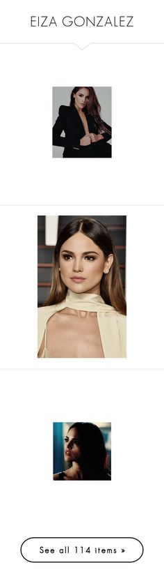 """""""EIZA GONZALEZ"""" by bloodystilinski ❤ liked on Polyvore featuring eiza gonzalez, home, home decor, canvas home decor, jewelry and earrings"""