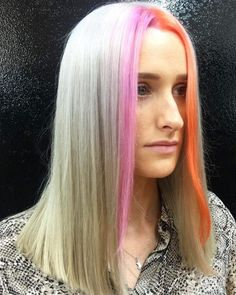 21 Trending E-girl Hairstyles That'll Turn You Into a TikTok Queen Fringe Hairstyles, Hairstyles Haircuts, Hidden Rainbow Hair, Strawberry Blonde Highlights, Hair Color Streaks, Hair Colour, Latest Hair Trends, Hot Hair Colors, Braids With Extensions