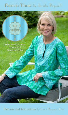 Patricia Tunic ~ Sis Boom PDF Sewing Pattern @ Sew, Mama, Sew!