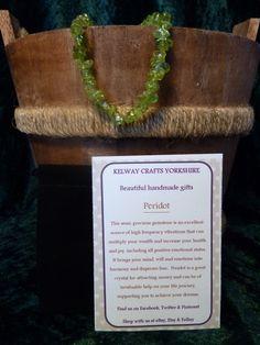 Peridot bracelet precious stone gemstone meanings stretch bracelet c £9.99